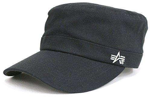 ALPHA INDUSTRIES INC(アルファ インダストリーズ) キャップ 帽子 ワークキャップ シルバー Free