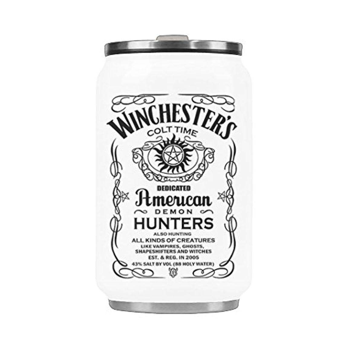 好み思春期の必要とする面白いクリスマスマグ – Winchester Brosステンレススチール真空カップ旅行コーヒーマグ10.3オンス