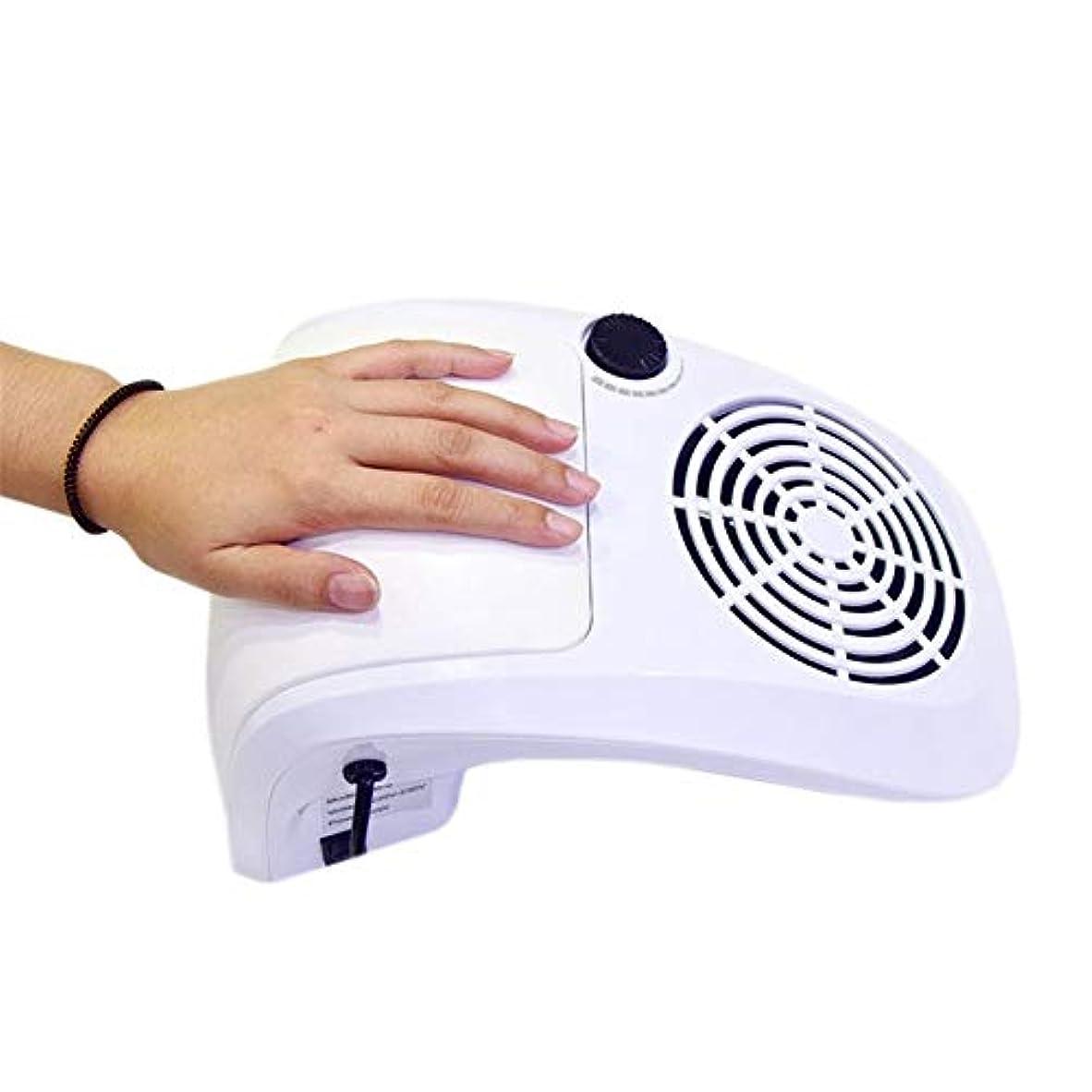 廊下指紋暗黙ネイル掃除機サクションダストコレクター機40ワット高電力プロフェッショナルサロン爪クリーニングダストコレクションファンネイルアートツール