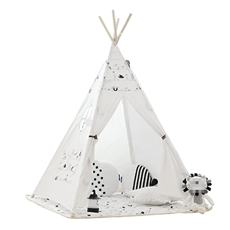 メーカー適応乱用XZGang 屋内ゲームハウス、子供の男の子、女の子のテント家庭用布アート赤ちゃんの読書コーナー子供の部屋のベッドテント120 * 120 * 160CM 子供用スペース (Size : 120*120*160CM)