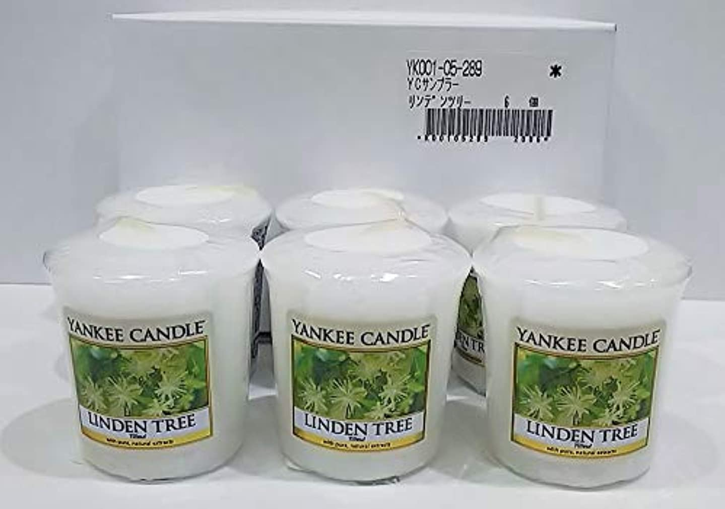 のために瞑想的シミュレートするヤンキーキャンドル サンプラー お試しサイズ リンデンツリー 6個セット 燃焼時間約15時間 YANKEECANDLE アメリカ製