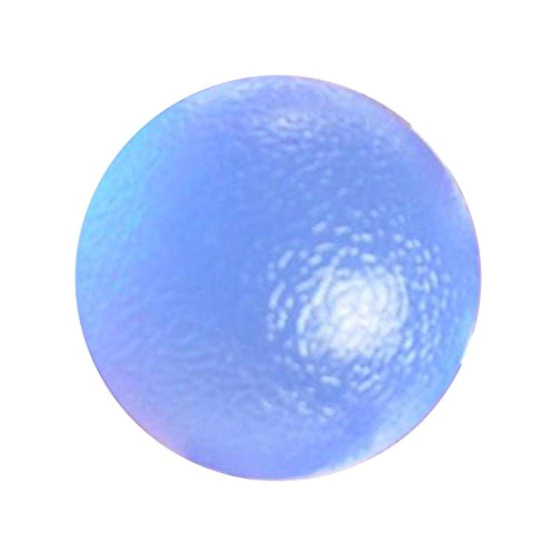 届けるハンサム番号グリップボール マッサージ ボール エクササイザ ポケットサイズ TPR 運動 便利 3タイプ選べ - ブルーハード, 説明したように