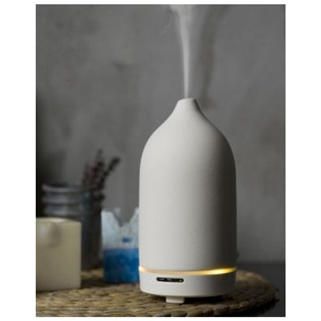 摩擦小麦に対応する超音波アロマディフューザー 陶香 Wh(ホワイト)