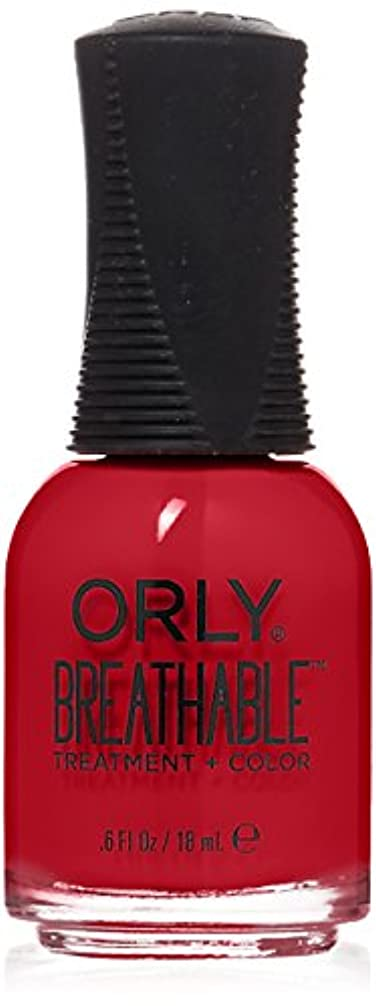 結び目メドレー測定Orly Breathable Treatment + Color Nail Lacquer - Love My Nails - 0.6oz/18ml