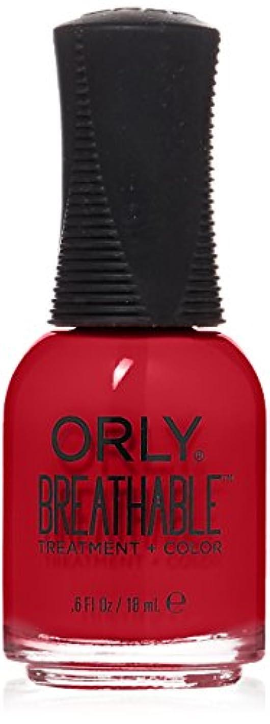 悪い普通の環境Orly Breathable Treatment + Color Nail Lacquer - Love My Nails - 0.6oz/18ml