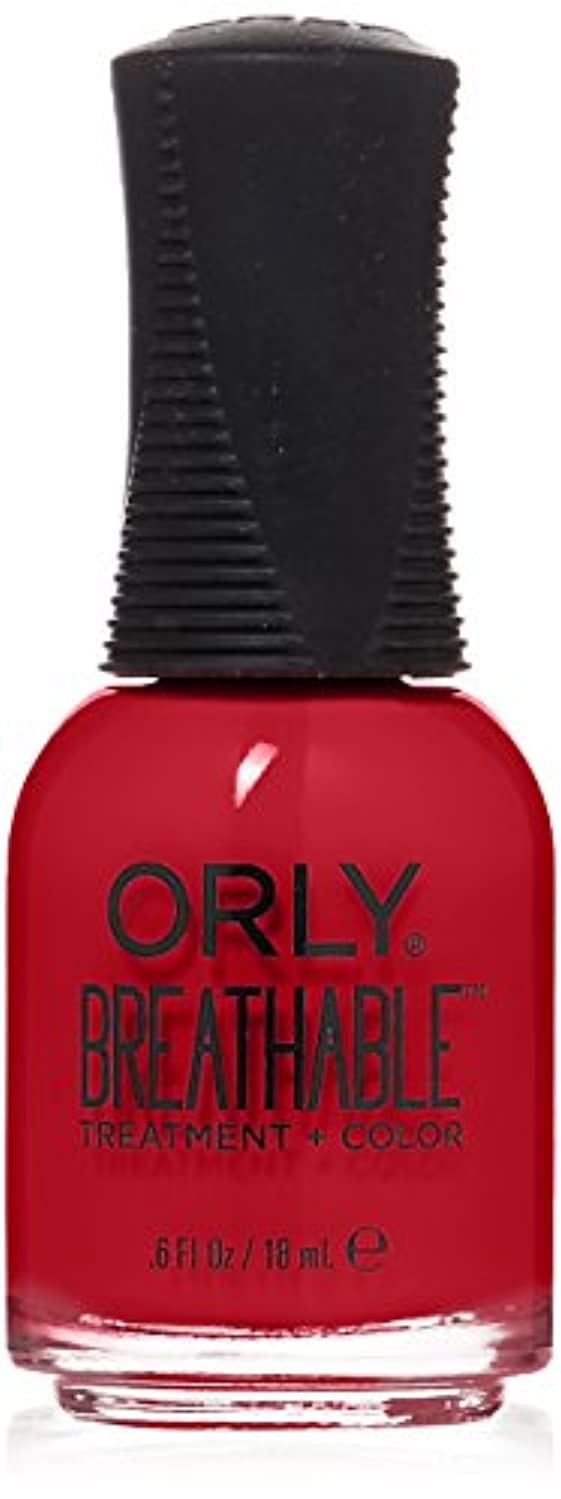 先にリール軽蔑Orly Breathable Treatment + Color Nail Lacquer - Love My Nails - 0.6oz/18ml