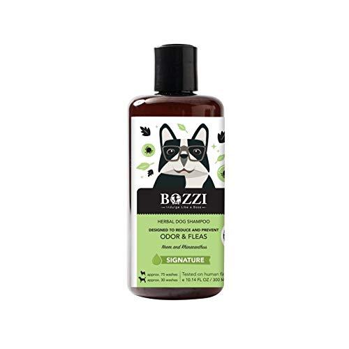 BOZZI 100%天然オーガニック ハーバル ドッグシャンプー 犬用シャンプー 300ml