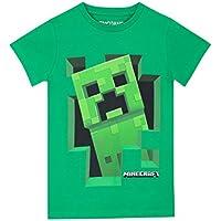 Minecraft Boys' Creeper T-Shirt