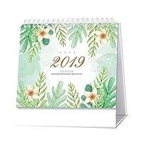 デスクカレンダー2019年1月 - 2019年12月オフィスデスクデコレーションカレンダープラン#1