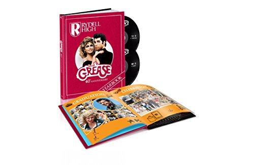 (初回生産限定) グリース 製作40周年記念 HDリマスター デジパック仕様 DVD&ブルーレイ [Blu-ray]