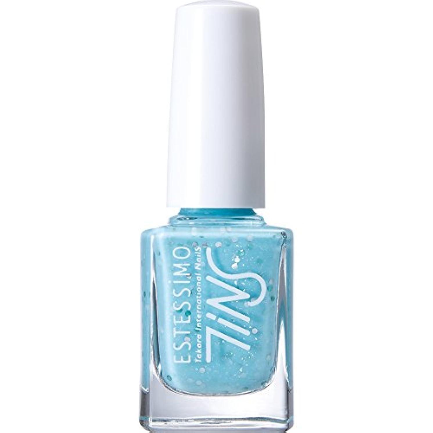 すばらしいです配当乳白色TiNS カラーポリッシュ 804 フィジーブルーパンチ 11ml 2015年春の限定色「Sugarsprinkles! 」シリーズ