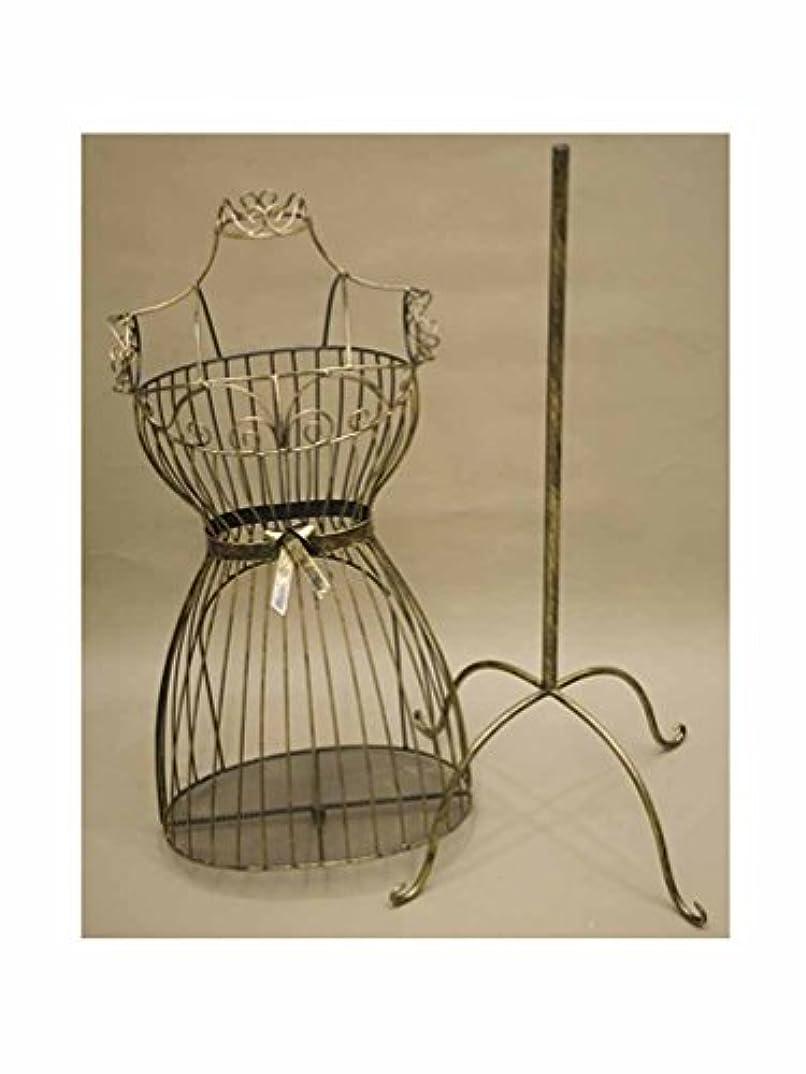 グラス金額並外れてマネキン ボディ トルソー 姫家具 :interior-ak-SA881874 (ダークゴールド)