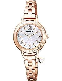 [シチズン]CITIZEN 腕時計 wicca ウィッカ ソーラーテック電波時計 ブレスライン HAPPY DIARY KL0-863-11 レディース