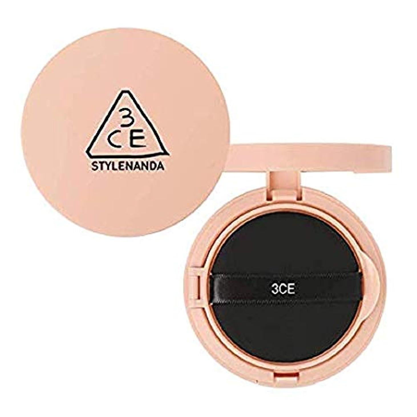 登録するグラディスケニア3CE グロー スキン クッション SPF50+ PA++++ / 3CE Glow Skin Cushion 15g [並行輸入品]