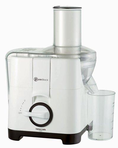 TESCOM ジューサー (投入口70mm)TJ210-W ホワイト