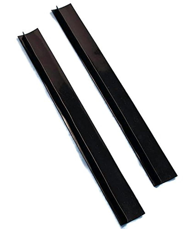 イヤホンメロドラマ味方Set of 2 Black Silicone Counter Gap Covers by LTD Commodities