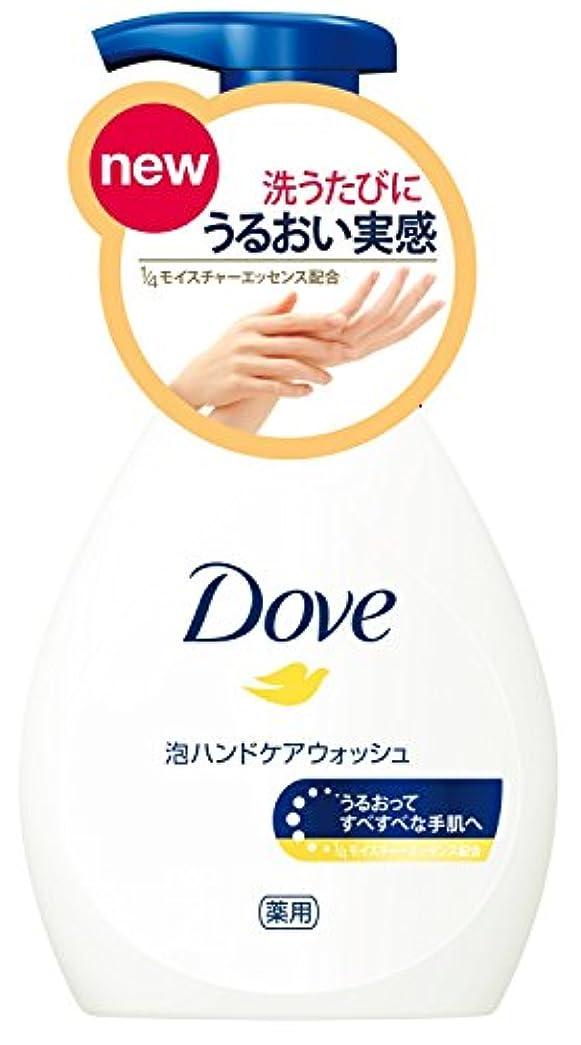 伸ばす心臓熱Dove ダヴ 泡ハンドケアウォッシュ ポンプ 250g