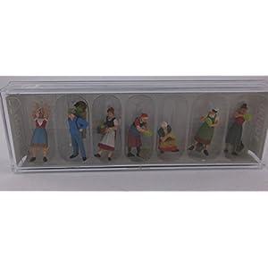 Preiser プライザー 10608 H0 1/87 働く人々 人形 フィギュア