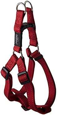 Rogz Utility Step-in Dog Harness, Red, Large