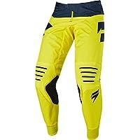 Yellow//White//Navy Fly Racing MX Motocross F-16 Pants 32
