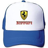 ITMEIAL Ferrari Mesh Cap Trucker Hat