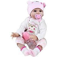 Greensun TM 55 cm可愛い人工シリコンシミュレーション人形Rebornベビー人形おもちゃ新生児誕生日プレゼントおもちゃエミュレートされた人形