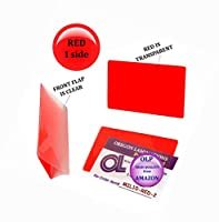 lam-it-allホットLaminating Pouches Militaryカード( Pack of 200) 10Mil 2–5/ 8x 3–7/ 8レッド/クリア