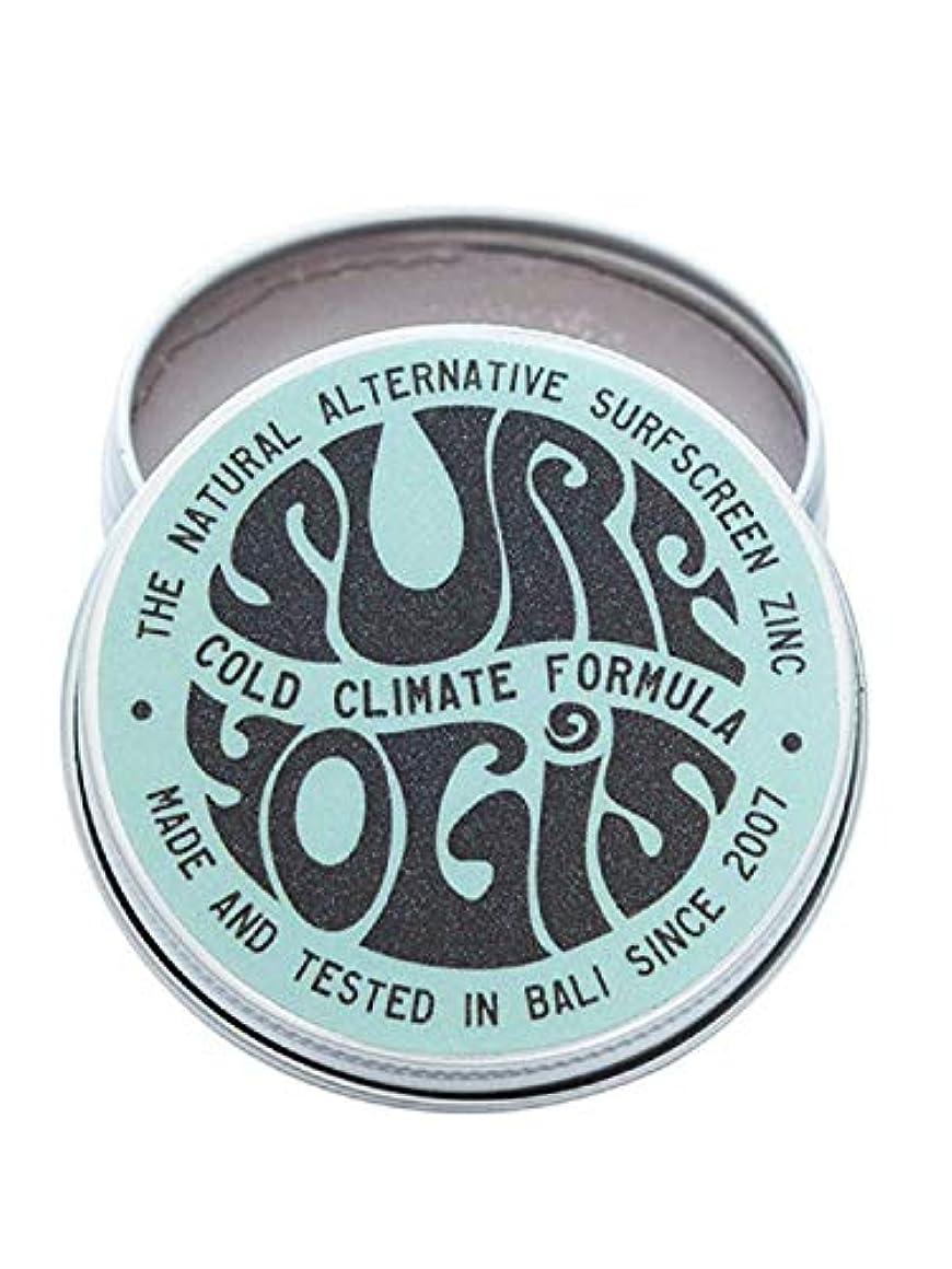 露骨な上陸海SURF YOGIS(サーフヨギ) ナチュラルサーフスクリーン COLD CLIMATE FORMULA フォーミュラ 冬用 柔らかめ 日焼け止め オーガニック素材 60g SPF50 ノンケミカル