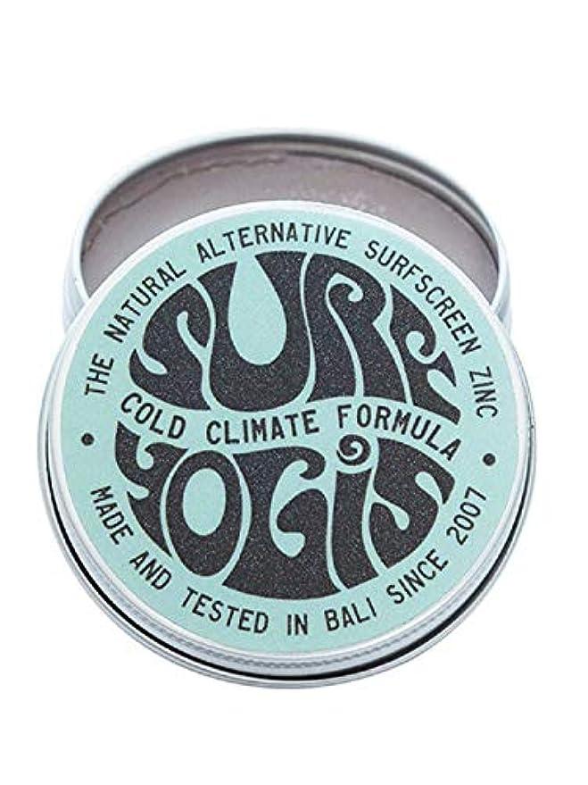 ラフ睡眠キリスト輸血SURF YOGIS(サーフヨギ) ナチュラルサーフスクリーン COLD CLIMATE FORMULA フォーミュラ 冬用 柔らかめ 日焼け止め オーガニック素材 60g SPF50 ノンケミカル