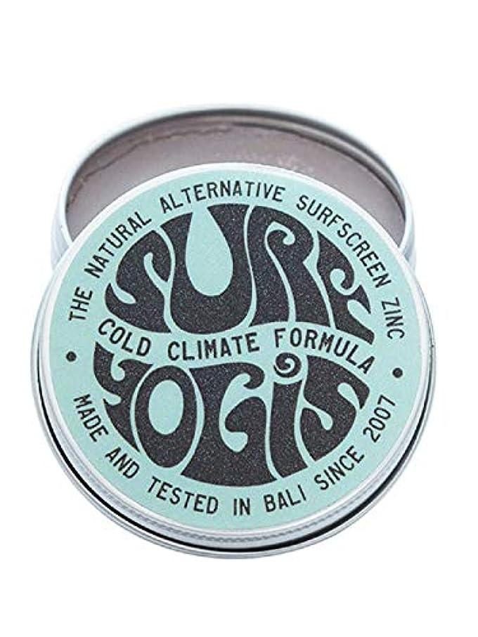 噂作曲する行為SURF YOGIS(サーフヨギ) ナチュラルサーフスクリーン COLD CLIMATE FORMULA フォーミュラ 冬用 柔らかめ 日焼け止め オーガニック素材 60g SPF50 ノンケミカル
