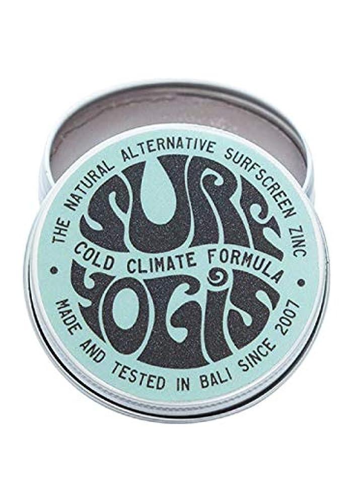 酔った世紀クモSURF YOGIS(サーフヨギ) ナチュラルサーフスクリーン COLD CLIMATE FORMULA フォーミュラ 冬用 柔らかめ 日焼け止め オーガニック素材 60g SPF50 ノンケミカル