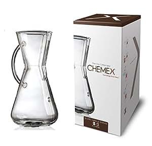 **CHEMEX/ケメックス ガラスハンドル コーヒーメーカー( CM-1GH )<3カップ用>