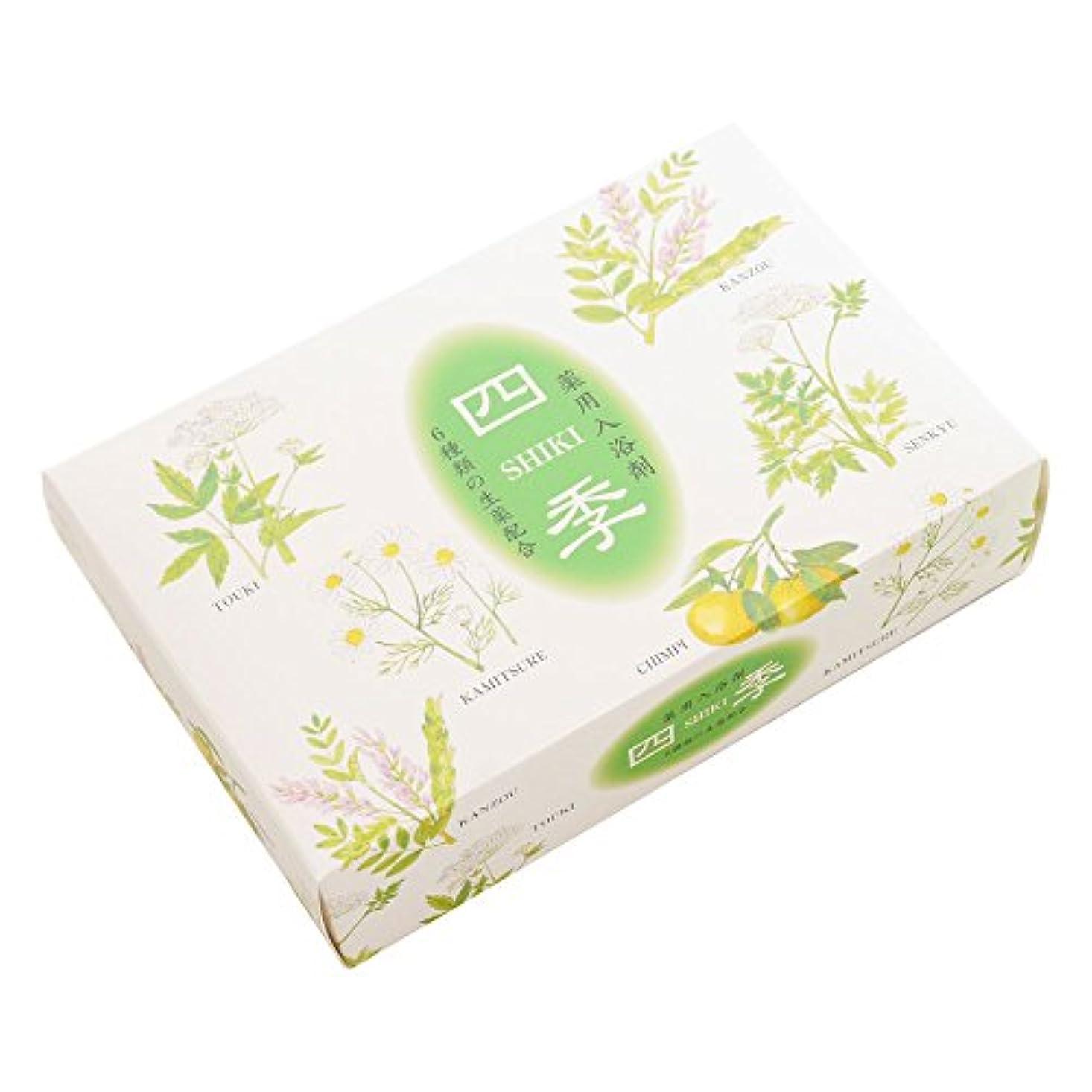 安全性マングル爵薬用入浴剤 四季25g×5包