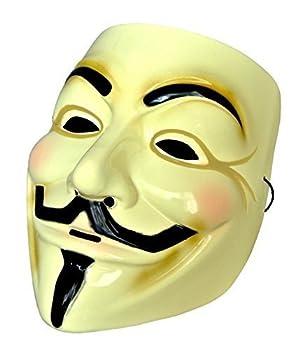 ガイ・フォークス アノニマスのマスク 肉厚タイプ コスチューム用小物 男女共用 MM-GFMASK01