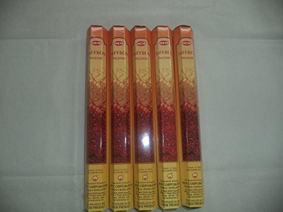 農業の一晩道徳Hemサフラン100 Incense Sticks ( 5 x 20スティックパック)