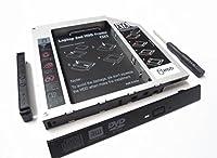Gotor® VPC-SB31FX VPC-Z137G 対応交換用 ハードドライブキャディーケース HDD アダプター(9.5mm厚のドライブを搭載したノートPC対応)