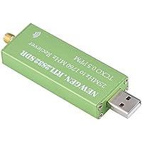 Fosa USB RTL-SDR、25?1760 MHzレシーバコネクタ、0.5PPM TCXO、SMA入力、アルミニウムエンクロージャ、拡張SDRソフトウェアと互換性のある拡張されたソフトウェア定義無線