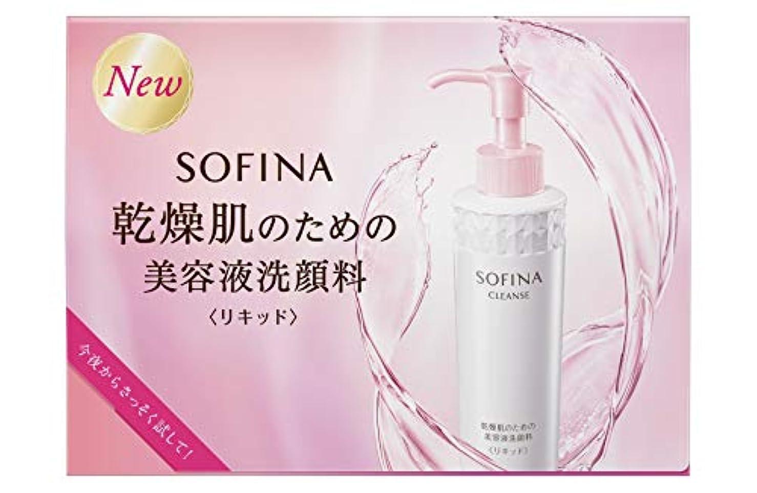 非効率的な不潔切るソフィーナ 乾燥肌のための美容液洗顔料(リキッド) お試しピロー 2ml×2 【実質無料サンプルストア対象】