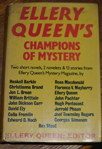 Download Ellery Queen's Champions of Mystery (G K Hall Large Print Book Series) 0816141088