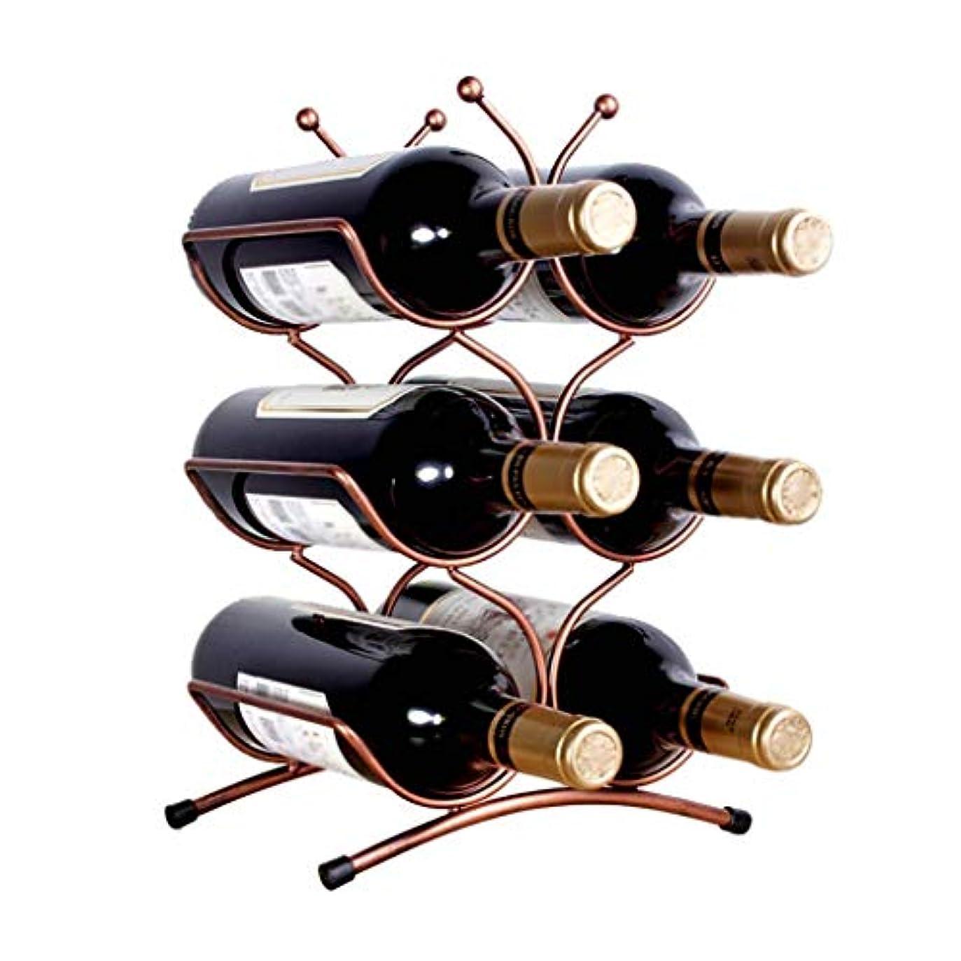 輝度湖マーティフィールディングWZB自立カウンタートップワインラック| Jtogo.jp メタル卓上ワイン収納ラック| Jtogo.jp ウォーターボトルブラケットA +(サイズ:25×16×36cm)