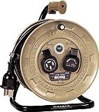 ハタヤ(HATAYA) 三相200V型コードリール コンパクトタイプ 10m 3P2個口コンセント JT3-102M