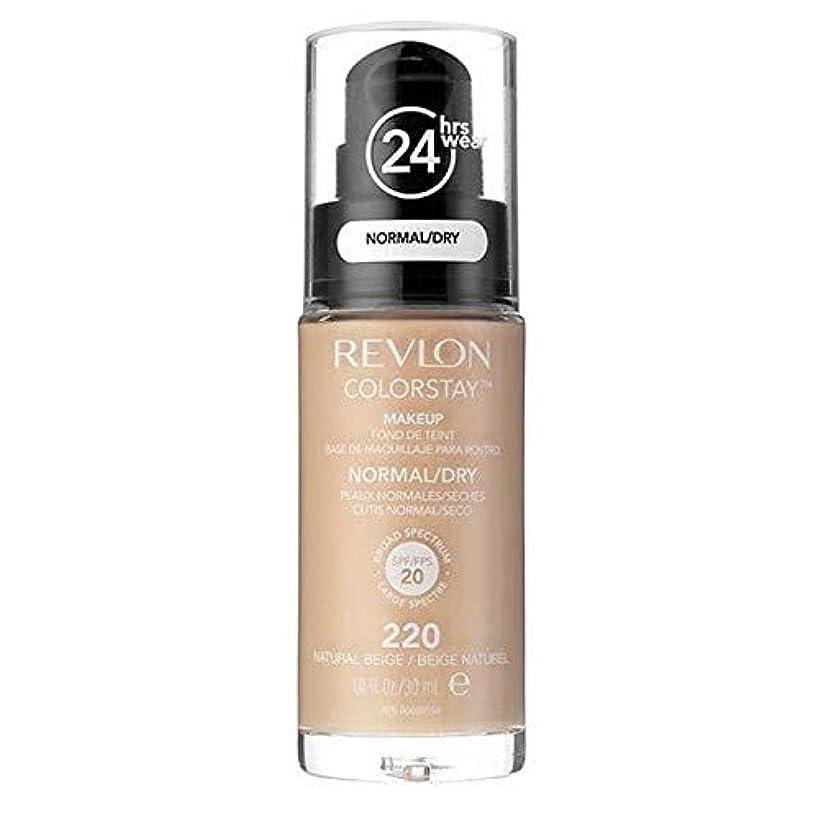 [Revlon ] レブロンカラーステイ基盤ノルム/ドライNatベージュ30ミリリットル - Revlon Color Stay Foundation Norm/Dry Nat Beige 30ml [並行輸入品]