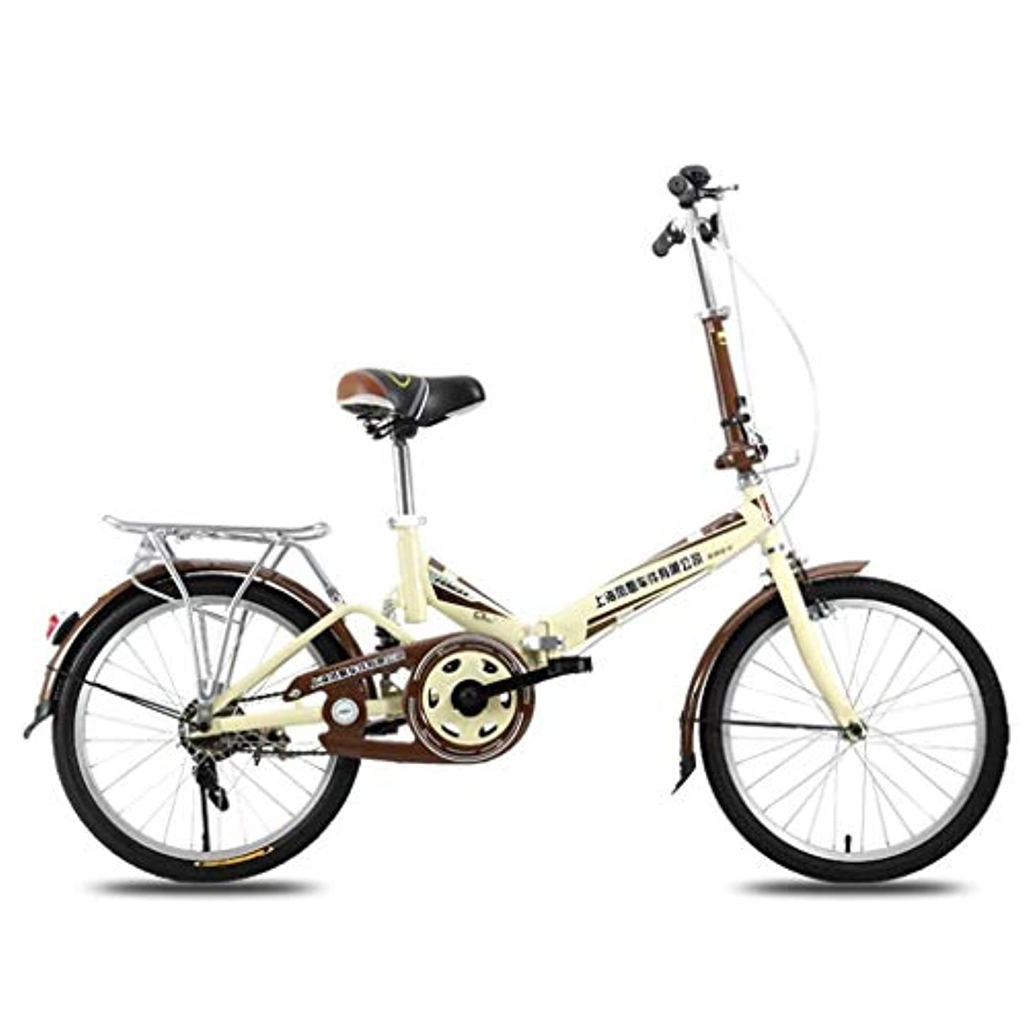 まっすぐにする病気の取る自転車旅行子供用自転車20インチ超軽量ポータブル折りたたみ自転車大人の女の子子供自転車ピンク