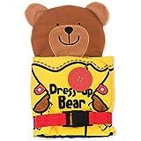 Melissa And Doug 9206 Dress Up Bear Soft Activity Book