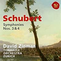 Schubert: Symphonies Nos 3 & 4 by Schubert (2012-07-10)