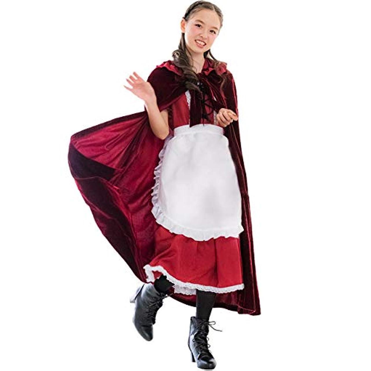 観光に行くシンジケート航空便Catherine Cottage ハロウィン 仮装 衣装 赤ずきん風ドレス コスチューム レディース 大人 CL0031