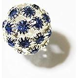 アクセサリーパーツ サッカーボール (Blue)