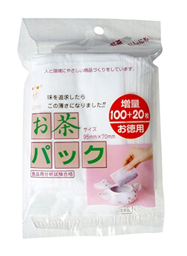 ゼンミ お茶パック超うすタイプ 増量100+20枚入