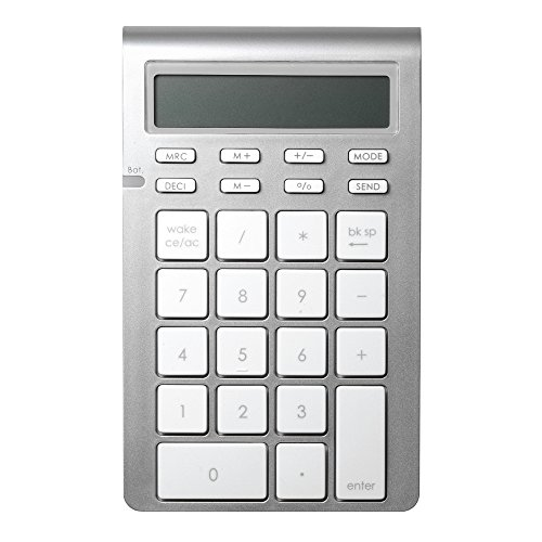 Satechi ワイヤレス スマート テンキー 26キー 電卓モード付 Mac Windows 対応