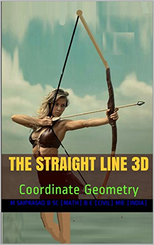The straight line 3D: Coordinate Geometry (English Edition)